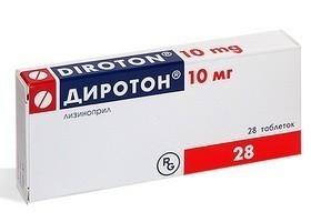 ДИРОТОН ТАБ. 10МГ №28 ГРФ в Туле