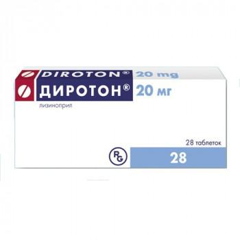 ДИРОТОН ТАБ. 20МГ №28 ГРФ в Туле