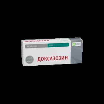 ДОКСАЗОЗИН-ФПО ТАБ. 4МГ №30 в Туле