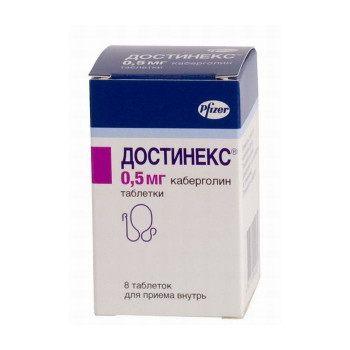ДОСТИНЕКС ТАБ. 0.5МГ №8 в Хабаровске