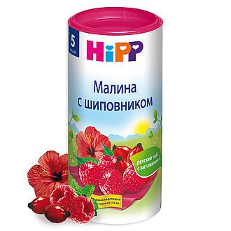 ХИПП ЧАЙ ДЕТСКИЙ МАЛИНА-ШИПОВНИК 200Г (6+МЕС) в Красноярске
