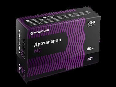 ДРОТАВЕРИН МС ТАБ. 40МГ №20 в Чебоксарах