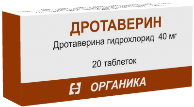 ДРОТАВЕРИН ТАБ. 40МГ №20 ОРК в Туле