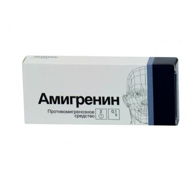 АМИГРЕНИН ТАБ. П.П.О. 100МГ №6 в Тюмени