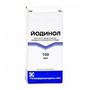 ЙОДИНОЛ Р-Р 100МЛ ТХП в Екатеринбурге
