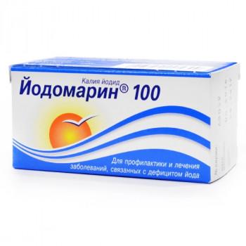 ЙОДОМАРИН 100 ТАБ. 0,1МГ №100 в Чебоксарах