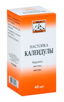 КАЛЕНДУЛА НАСТОЙКА 40МЛ ФЛК в Туле