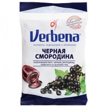 КАРАМЕЛЬ ЛЕЧЕБНАЯ ВЕРБЕНА ЧЕРН СМОРОДИНА 60Г БАД в Ярославле