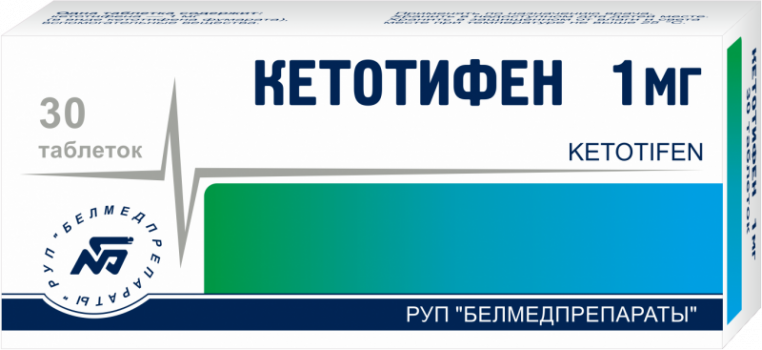 КЕТОТИФЕН ТАБ. 1МГ №30 БМП в Чебоксарах