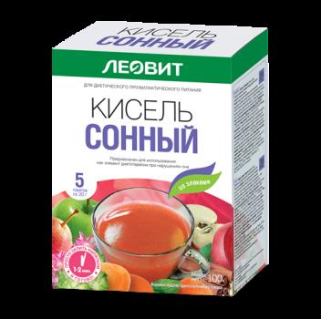 КИСЕЛЬ ЛЕОВИТ СОННЫЙ 20Г №5 в Хабаровске