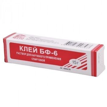 КЛЕЙ БФ-6 МЕДИЦИНСКИЙ 10Г МПЗ в Чебоксарах