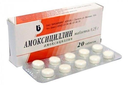 АМОКСИЦИЛЛИН ТАБ. 250МГ №20 БНЗ в Ярославле