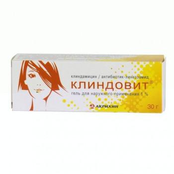 КЛИНДОВИТ ГЕЛЬ 1% 30Г в Хабаровске