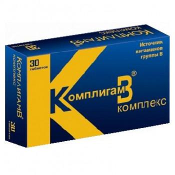 КОМПЛИГАМ B КОМПЛЕКС ТАБ. №30 БАД в Челябинске