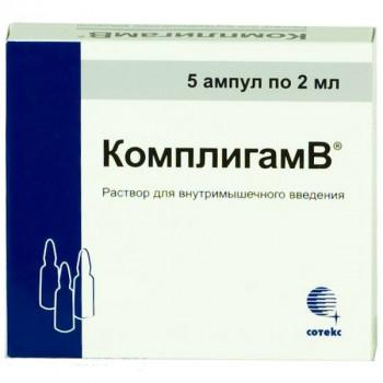 КОМПЛИГАМВ Р-Р В/М 2МЛ №5 в Туле