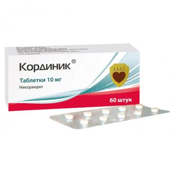 КОРДИНИК ТАБ. 10МГ №60 в Чебоксарах