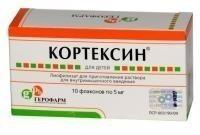 КОРТЕКСИН ЛИОФ В/М 5МГ/11МГ №10 в Чебоксарах