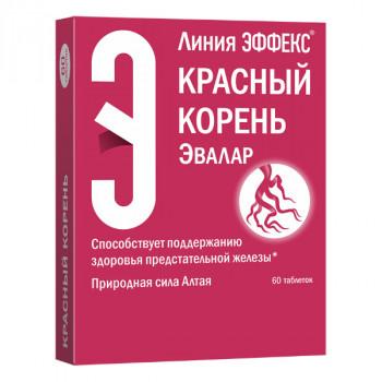 КРАСНЫЙ КОРЕНЬ ЭФФЕКС ТАБ. П.О №60 БАД в Туле