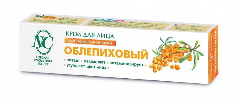 КРЕМ ДЛЯ ЛИЦА ОБЛЕПИХОВЫЙ ВИТАМИННЫЙ 40МЛ НОРМ КОЖИ в Екатеринбурге