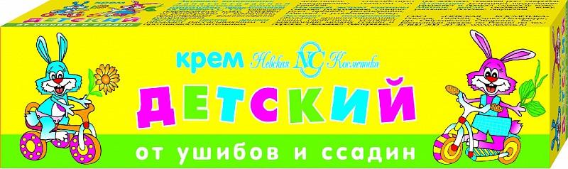 КРЕМ ДЕТСКИЙ ОТ УШИБОВ И ССАДИН 40МЛ в Томске