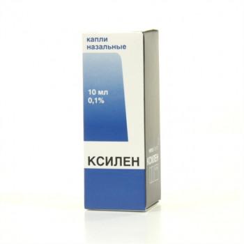КСИЛЕН КАПЛИ НАЗ. 0,1% 10МЛ в Красноярске