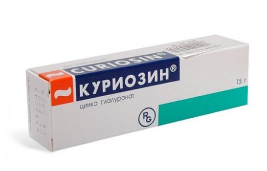 КУРИОЗИН ГЕЛЬ 15,4МГ 15Г в Ярославле