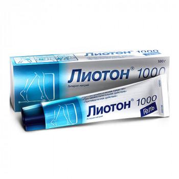 ЛИОТОН 1000 ГЕЛЬ 100Г в Чебоксарах