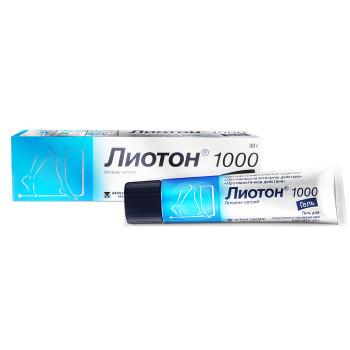 ЛИОТОН 1000 ГЕЛЬ 30Г в Чебоксарах