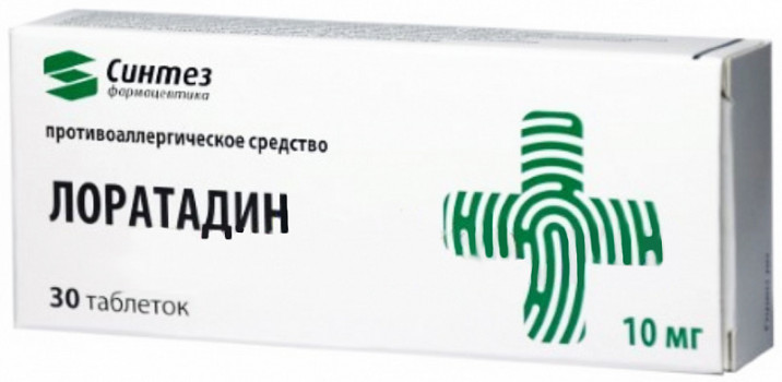 ЛОРАТАДИН ТАБ. 10МГ №30 СИН в Чебоксарах