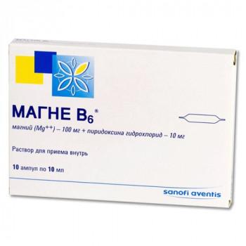 МАГНЕ B6 Р-Р ВНУТР 10МЛ №10 в Тюмени