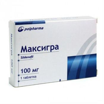 МАКСИГРА ТАБ. П.П.О. 100МГ №1 в Красноярске