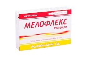 МЕЛОФЛЕКС-РОМФАРМ Р-Р В/М 10МГ/МЛ 1,5МЛ №3 в Чебоксарах