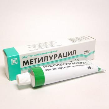 МЕТИЛУРАЦИЛ МАЗЬ 10% 25Г ТХП в Чебоксарах