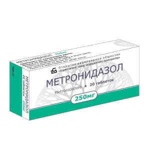 МЕТРОНИДАЗОЛ ТАБ. 250МГ №20 БЗМ в Чебоксарах