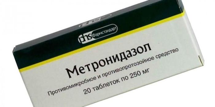 МЕТРОНИДАЗОЛ ТАБ. 250МГ №20 ФСД в Чебоксарах