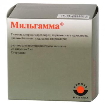 МИЛЬГАММА Р-Р В/М 2МЛ №25 в Ярославле
