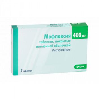 МОФЛАКСИЯ ТАБ. П.П.О. 400МГ №7 в Томске
