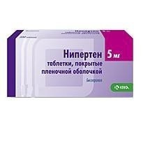 НИПЕРТЕН ТАБ. П.П.О. 5МГ №30 в Ярославле